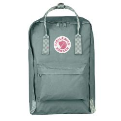Fjallraven Kanken Laptop 15 (Frost Green/Chess Pattern)