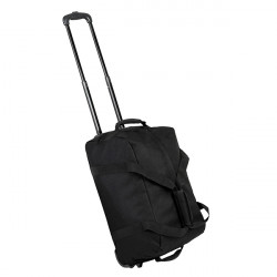 Rock Holdall On Wheels Small 42 (Black)