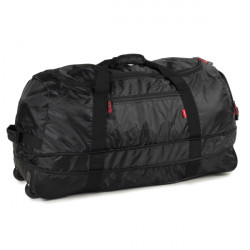 Members Foldaway Wheelbag 105/123 (Black)