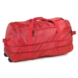 Members Foldaway Wheelbag 105/123 (Red)