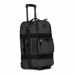 Ogio Layover Travel Bag (Black Pindot)