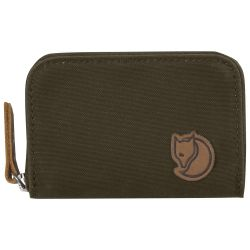 Fjallraven Zip Card Holder (Dark Olive)