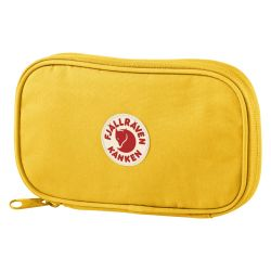 Fjallraven Kanken Travel Wallet (Warm Yellow)