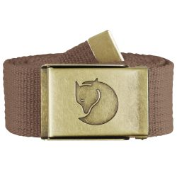 Fjallraven Canvas Brass Belt 4cm (Dark Sand)