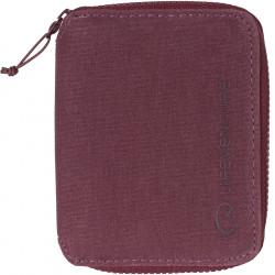 Lifeventure RFID Bi-Fold Wallet (Aubergine)