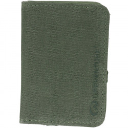 Lifeventure RFID Card Wallet (Olive)