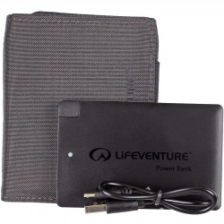 Lifeventure RFID Charger Wallet (Grey)