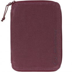 Lifeventure RFID Mini Travel Wallet (Aubergine)