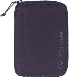 Lifeventure RFID Mini Travel Wallet (Navy)