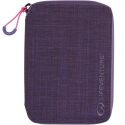 Lifeventure RFID Mini Travel Wallet (Purple)