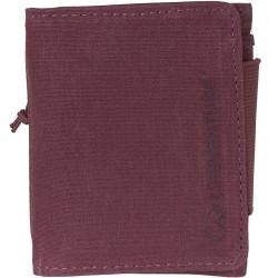 Lifeventure RFID Tri-Fold Wallet (Aubergine)