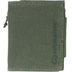 Lifeventure RFID Tri-Fold Wallet (Olive)