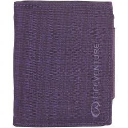 Lifeventure RFID Tri-Fold Wallet (Purple)