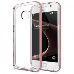VERUS Galaxy S7 Crystal Bumper - Rose Gold