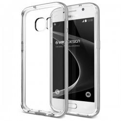 VERUS Galaxy S7 Crystal Bumper - Steel Silver