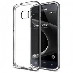 VERUS Galaxy S7 Crystal Bumper - Light Silver
