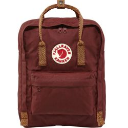 Fjallraven Kanken (Ox Red-Goose Eye)
