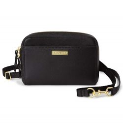 Skip Hop Greenwich Convertible Hip Pack (Black)