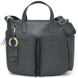 Skip Hop Greenwich Simply Chic Tote (Smoke)