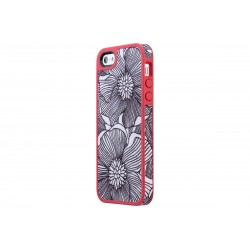Speck FabShell FreshBloom /Coral Pink Black (iPhone SE/5/5s)
