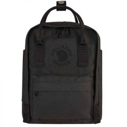 Fjallraven Re-Kanken Mini (Black)