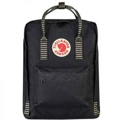 Fjallraven Kanken (Black-Striped)