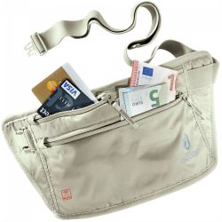 Deuter Security Money Belt II RFID Block (Sand)