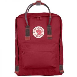 Fjallraven Kanken (Deep Red-Random Blocked)