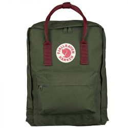 Fjallraven Kanken (Forest Green-Ox Red)