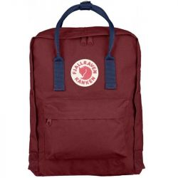Fjallraven Kanken (Ox Red-Royal Blue)