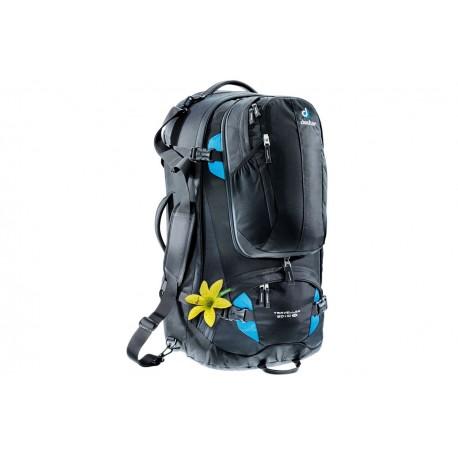 1ede61535b02 ProBag|Deuter Traveller 60+10 SL Black Turquoise—《Здесь ДЕШЕВЛЕ ...
