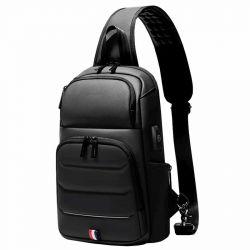 Rowe Crossbody Sling Pack (Black)