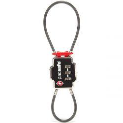 Pacsafe TSA 3-Dial Double Cable Lock