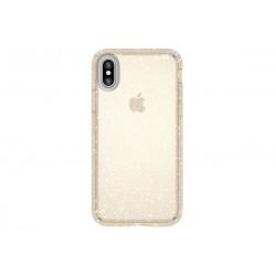 Speck Presidio Clear + Glitter Clear/Gold Glitter (iPhone X)