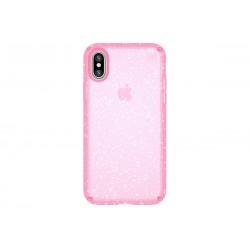 Speck Presidio Clear + Glitter Bella Pink/Gold Glitter (iPhone X)