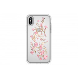 Speck Presidio Clear + Print Golden Blossoms Pink/Clear (iPhone X)