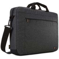 "Case Logic Era 15.6"" Laptop Attache (Obsidian)"