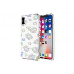 Incipio Design Series Classic Princess Peach Holographic Kisses (iPhone X)