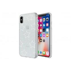 Incipio Design Series Classic Princess Peach Glitter Star Cut Out (iPhone X)