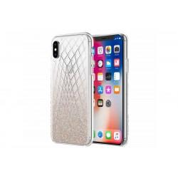 Incipio Design Series Classic Princess Peach Multi-Glitter (iPhone X)