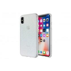 Incipio Design Series Classic Princess Peach Iridescent White Glitter (iPhone X)