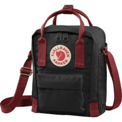 Fjallraven Kanken Sling (Black/Ox Red)