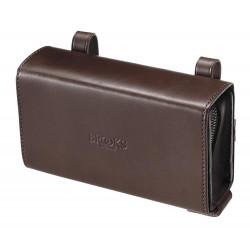 Brooks D-Shaped Saddle Bag (Brown)