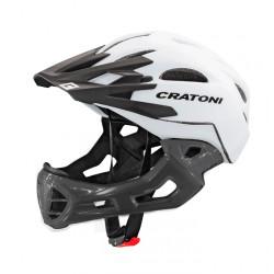 Cratoni C-Maniac S/M (White/Lucentblack Matt) 52-56 см