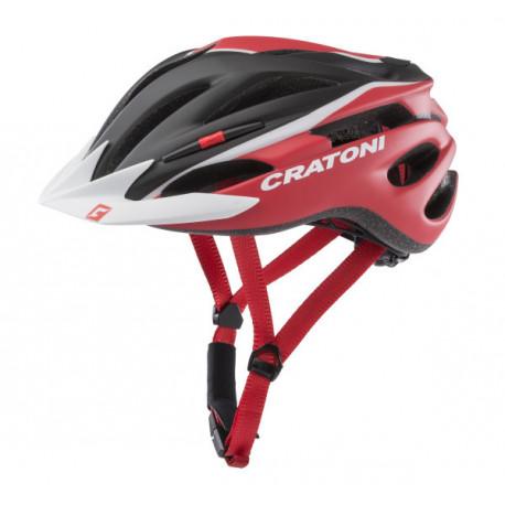 Cratoni Pacer XS-S (Black/Red Matt) 49-55 см