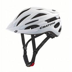 Cratoni Pacer+ L-XL (White Matte) 58-62 см