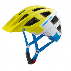 Cratoni Allset S/M (Lime-White-Blue Matt) 55-58 см