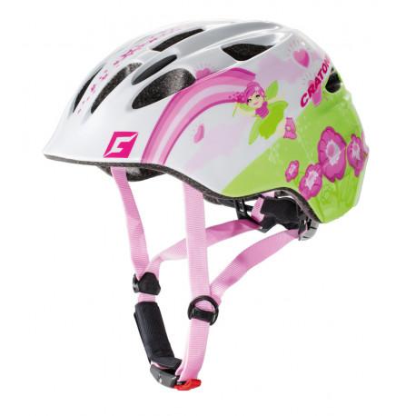 Cratoni Akino Fay M (White-Pink Glossy) 53-58 см