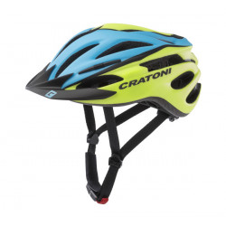 Cratoni Pacer XS-S (Blue/Lime Matt) 49-55 см