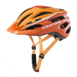 Cratoni Pacer XS-S (Orange/White Matt) 49-55 см